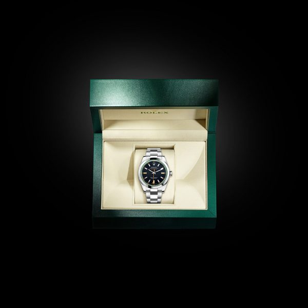 ROLEX OYSTER PERPETUAL MILGAUSS Oyster, 40 mm, Oystersteel M116400GV-0001