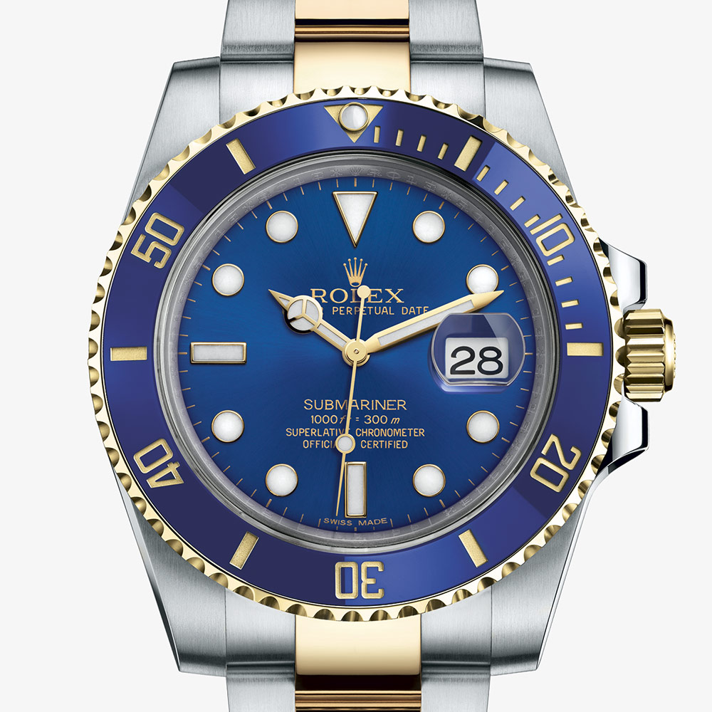 Rolex OYSTER PERPETUAL Submariner Date Oyster, 40 mm, Oystersteel and yellow gold M116613LB-0005