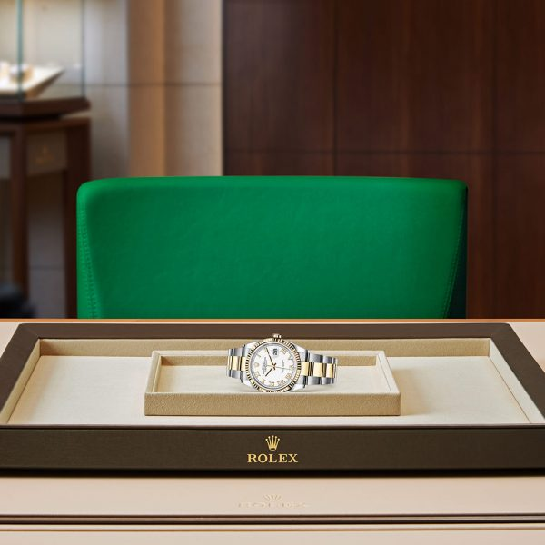 Rolex OYSTER PERPETUAL Datejust 36 Oyster, 36 mm, Oystersteel and yellow gold M126233-0030