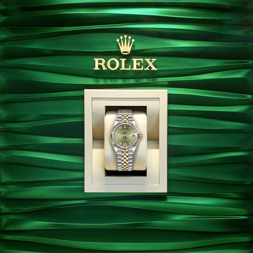 Rolex OYSTER PERPETUAL Datejust 31 Oyster, 31 mm, Oystersteel and yellow gold M278273-0016