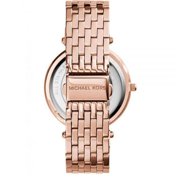 Michael Kors Parker - Montre Acier Or Rose Femme MK3192