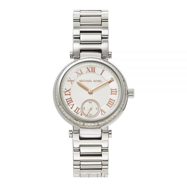 Michael Kors Skylar Silver Dial Stainless Steel montre femme MK5970