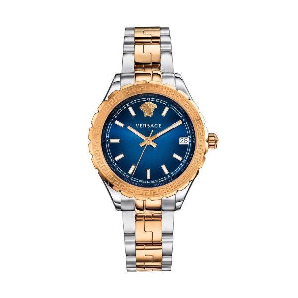 Versace Montre femmes Quartz Swiss Made Verre saphir Bracelet acier - V12060017