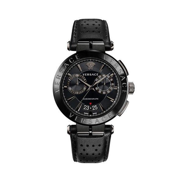 Versace Montre Homme chronographe Aion cuir - VE1D00519