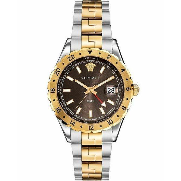 Versace Homme 42mm Bracelet Acier - V11040015