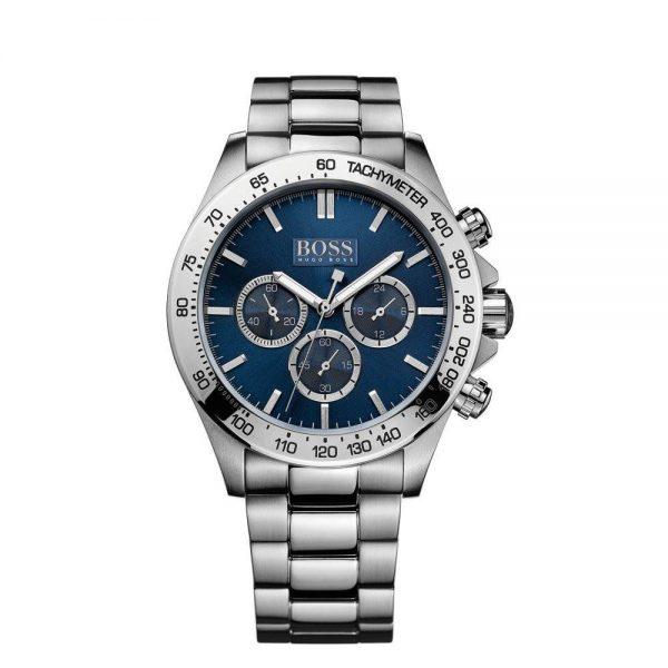 Montre Homme Hugo Boss Sport Chronographe à cadran bleu - 1512963