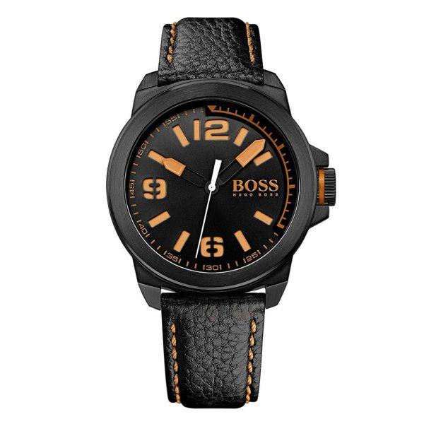Montre Homme Boss Orange Noir Détails orange - 1513152