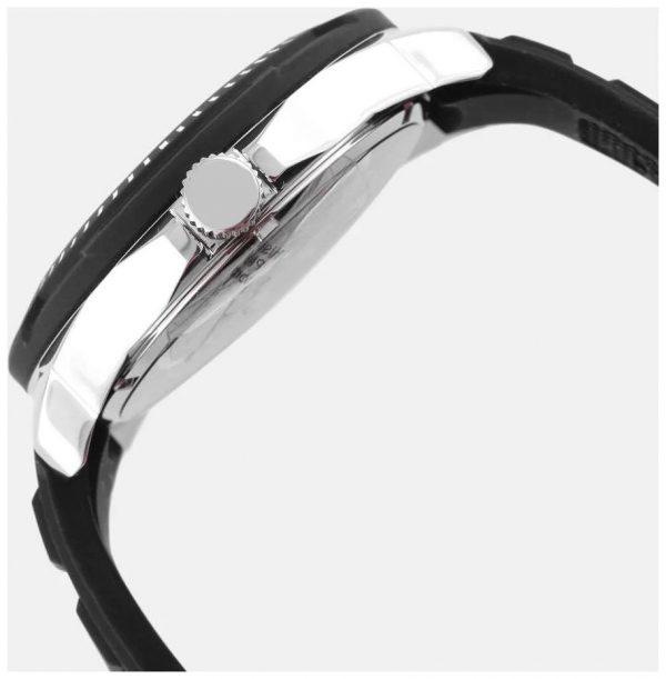 Guess Tread Montre Homme Analogique Quartz avec Bracelet Silicone - W0967G1
