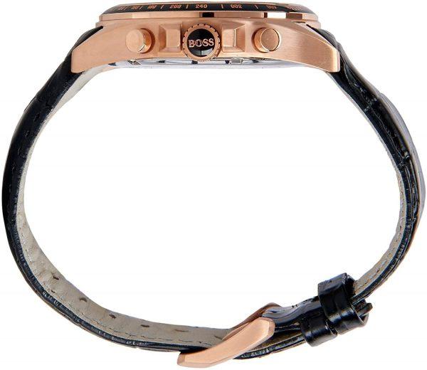 HUGO BOSS Montre chronographe pour Homme Rafale Cadran Marron - HB1513392