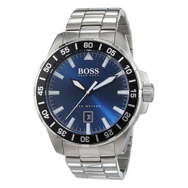 HUGO BOSS montre pour homme Deep Ocean Argent - 1513230