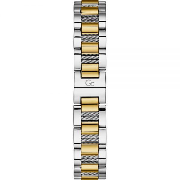 Montre GC - CABLE CHIC Boîtier acier et doré brillant - Y18020L1MF