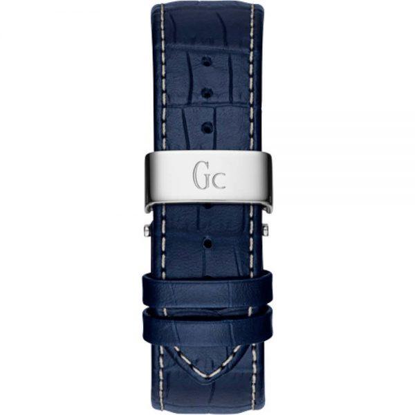 Montre Gc - Montre Chronographe Bleue Homme - X72025G7S