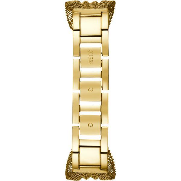Guess Montre Femme Analogique Chiffon avec Bracelet en Acier Inoxydable - W1083L2