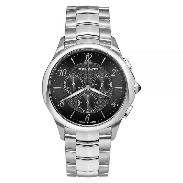 EMPORIO ARMANI chronographe Esedra de fabrication suisse pour homme - ARS8700