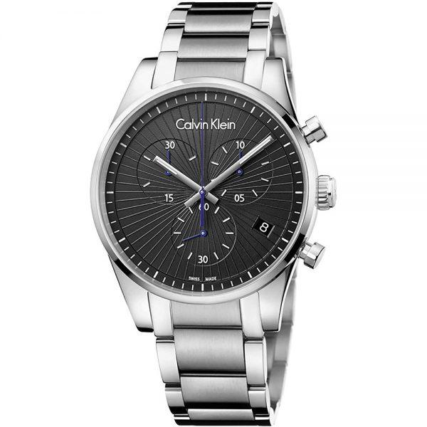 CALVIN KLEIN montre pour homme chronographe à quartz - K8S27141