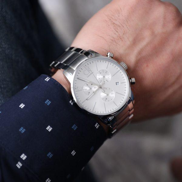 CALVIN KLEIN City montre pour homme Chronographe - K2G27146