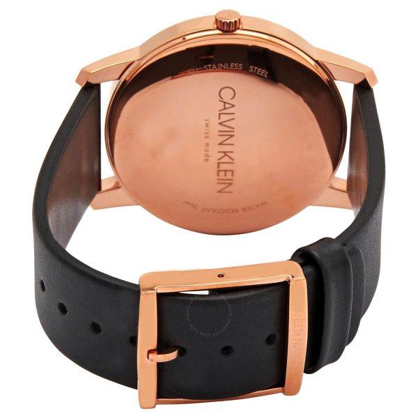 CALVIN KLEIN montre pour homme avec bracelet en cuir - K2G2G6CZ