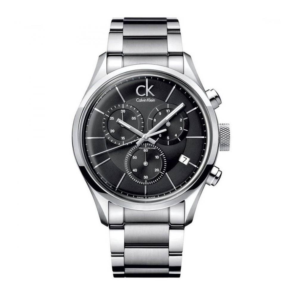 CALVIN KLEIN City montre pour homme Chronographe - K2G27143
