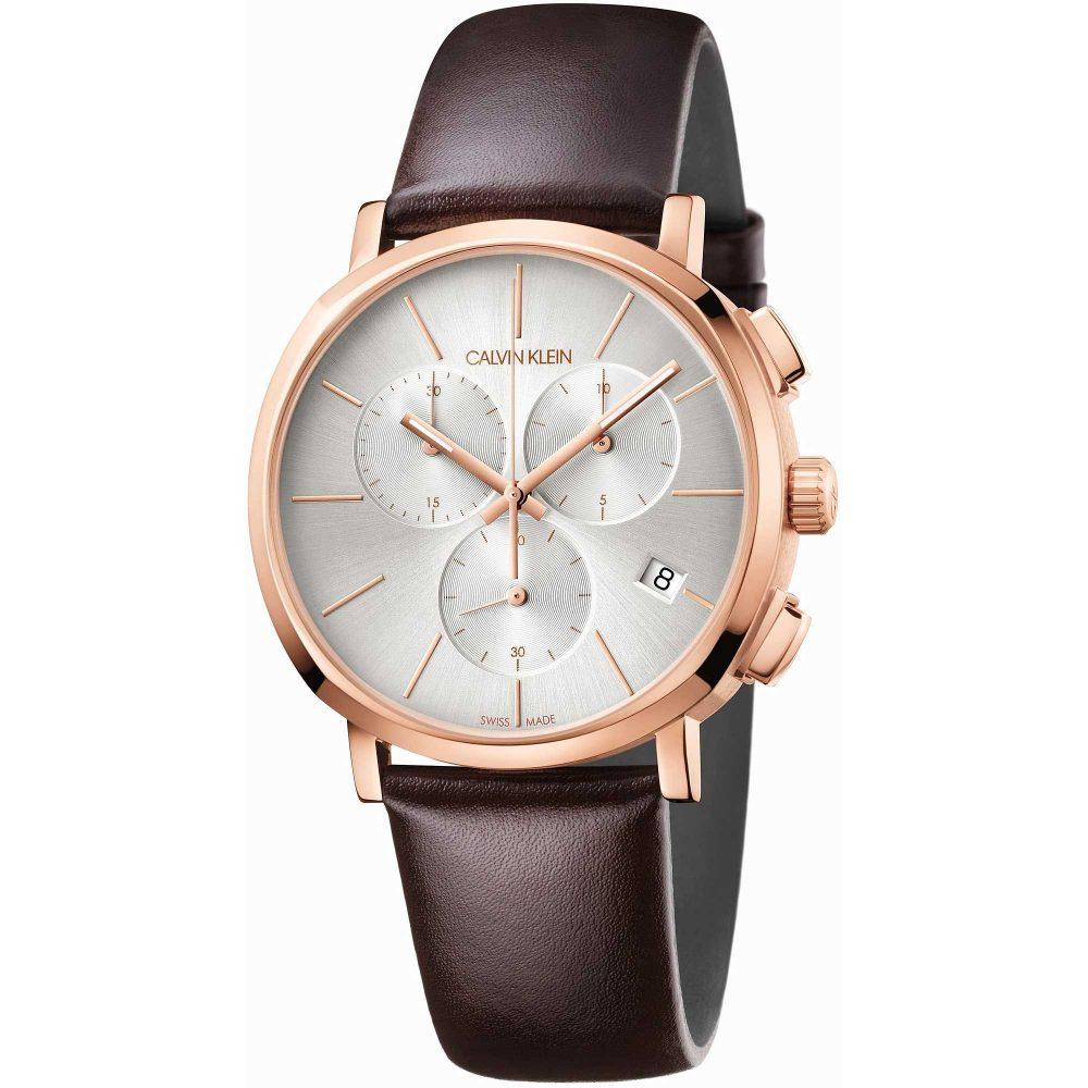 CALVIN KLEIN montre pour homme chronographe à quartz - K8Q376G6